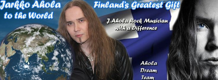 Created to celebrate Jarkko Ahola and our pages