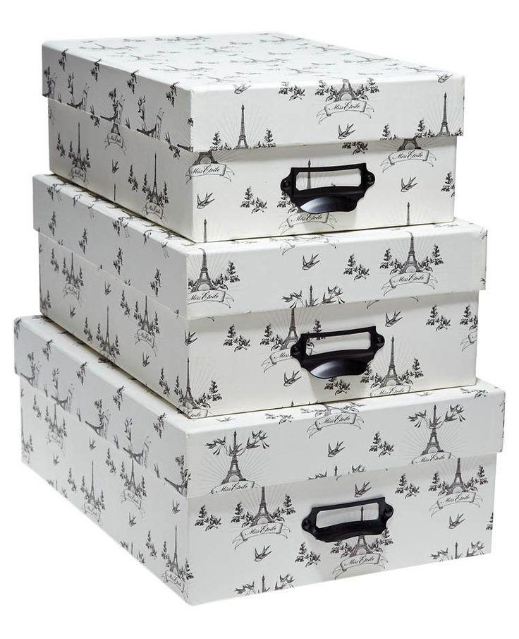 boite chapeau maison du monde set de boites chapeaux avec couvercle diam cm et with boite. Black Bedroom Furniture Sets. Home Design Ideas
