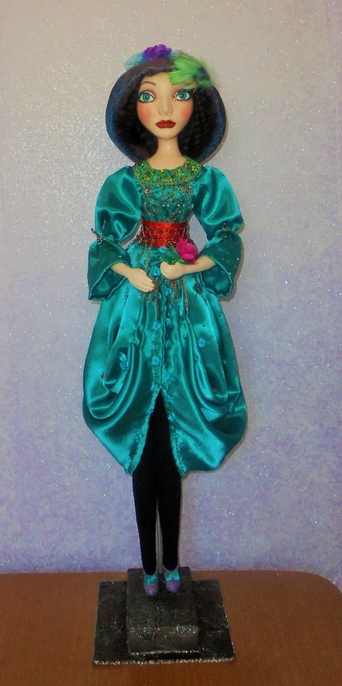 Doll Mirabel. Size 29 in.