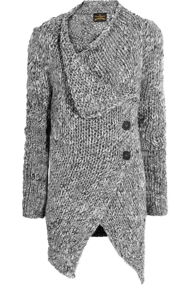 Vivienne Westwood Anglomania | Concordia wool-blend cardigan | NET-A-PORTER.COM
