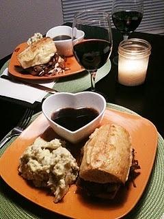FrenchDipSandwich | dinner ideas | Pinterest