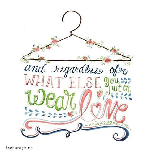 Lord, as I get ready for bed and start thinking about tomorrow - what I'm going to do, where I need to be and what I'm going to wear... remind me to put on the wardrobe YOU've picked out for me: compassion, kindness, humility, quiet strength, discipline.