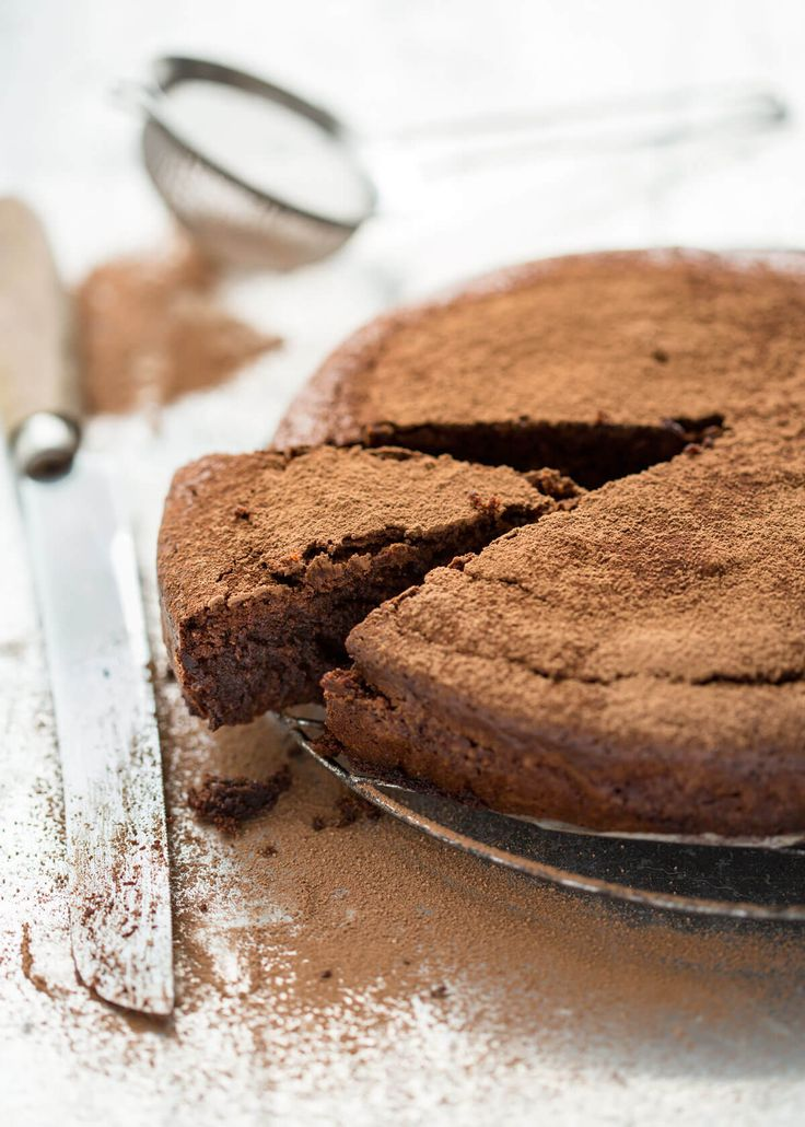 Jump to Recipe Print RecipeFudgey and decadent, this is my (extremely) easy flourless chocolate cake made using almond flour. No beating egg whites – I find it works better to use a touch of baking powder... Read More »