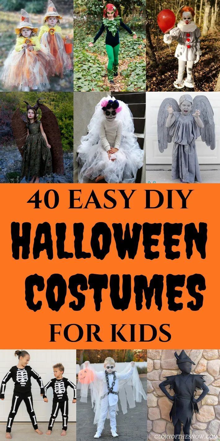 Halloween 2020 Children In Mind 40 Easy DIY Halloween Costumes For Kids That Will Blow Your Mind