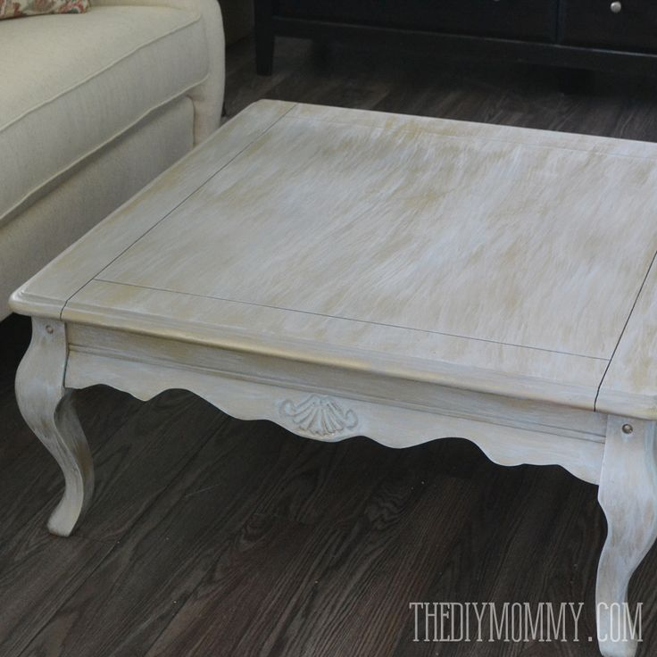 Upcycled Gold Dry-Brushed Table (+ How To Dry Brush