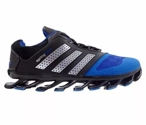 tênis adidas springblade drive 2015 preto e azul royal