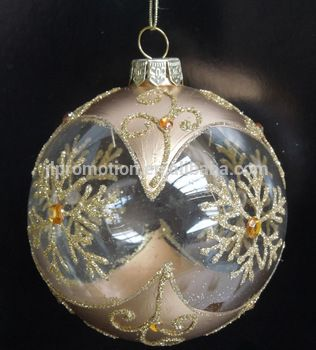 Hot sale hand-painted high quality and cheap novely plastic christmas baubles for christmas ornaments