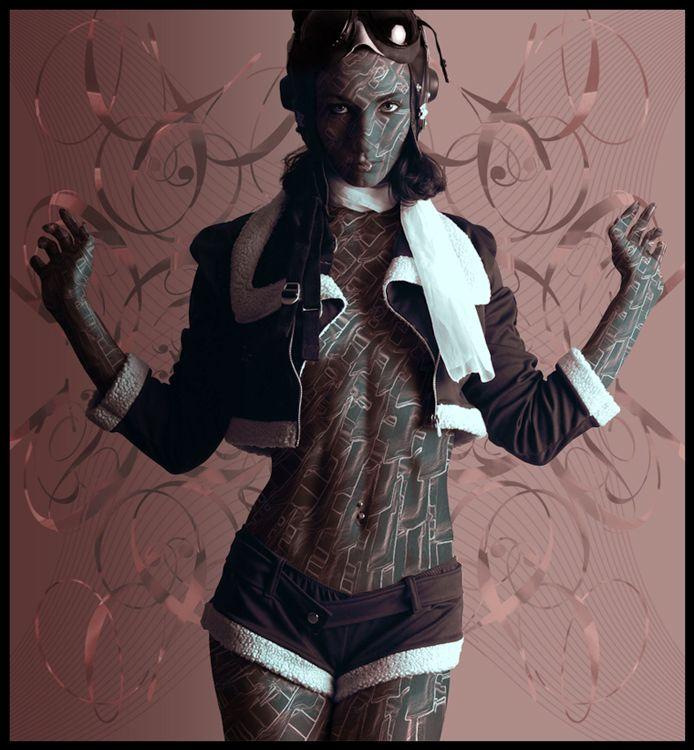 Painted Body by djyerba.deviantart.com on @DeviantArt