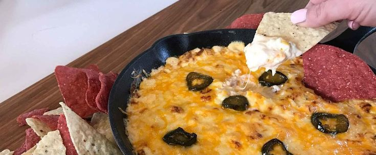 trempette épicée maïs | hot corn dip