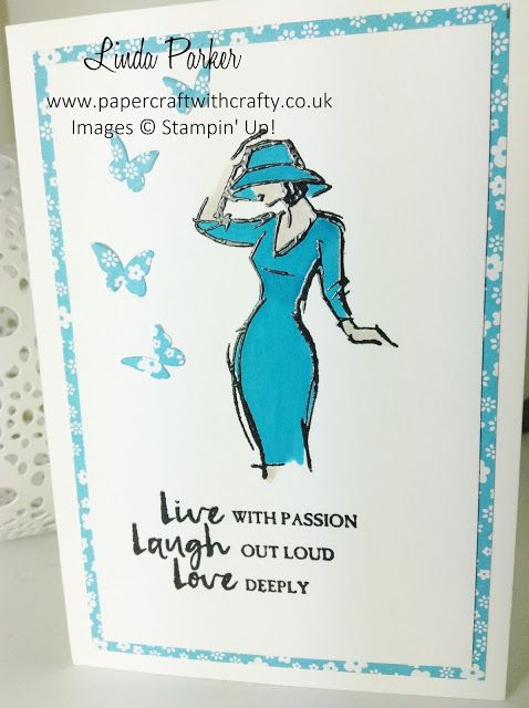 Beautiful You really is my favourite stamp set from the 2017 Spring/Summer catalogue.   The gorgeous images are perfect for using your Inks ...