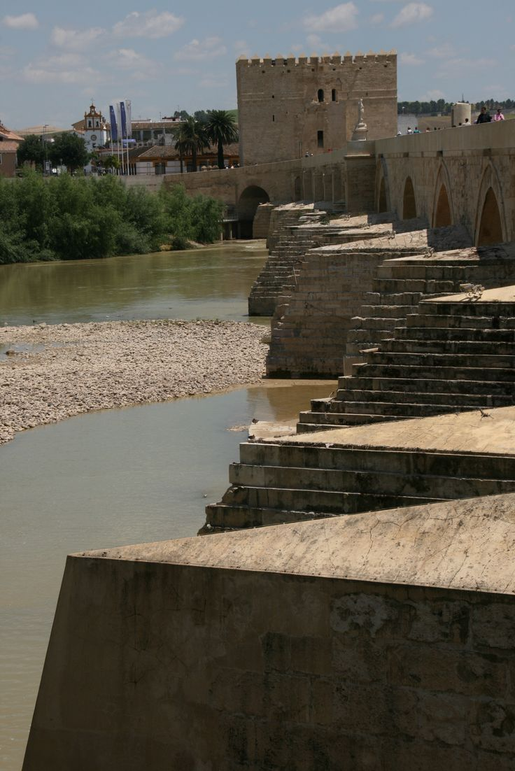 In Cordoba,  a Roman Built bridge, still standing and being used!!   Incredible.  rjs