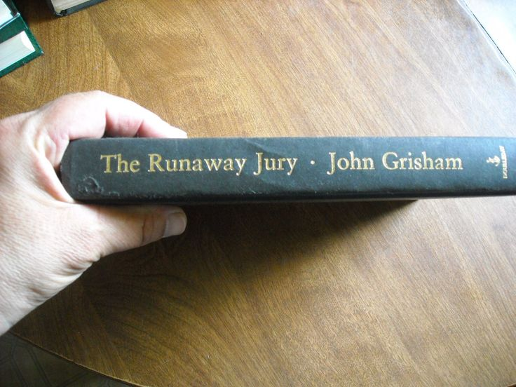 The Runaway Jury by John Grisham (1996) - for sale at Wenzel Thrifty Nickel ecrater store