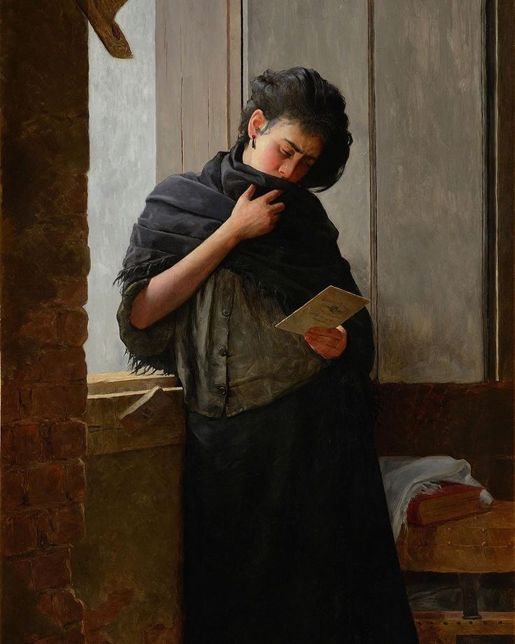 Saudade Almeida Júnior 1889  In the 19th century letters were practically the only way to communicate long distance. If the sender in question was someone very dear the letter ceased to have a simple informative or communicative aspect and began to have an emotional dimension such as the lady's case in this masterpiece: Saudade produced in the last year of the artist's life. Almeida Júnior was murdered by the husband of a woman with whom he had had an affair for several years.  The…