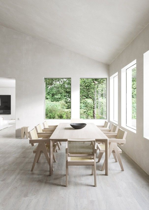 25 Take Advantage Of Style And Layout For A Minimalist Dining Room Minimalist Home Minimalist Home Interior