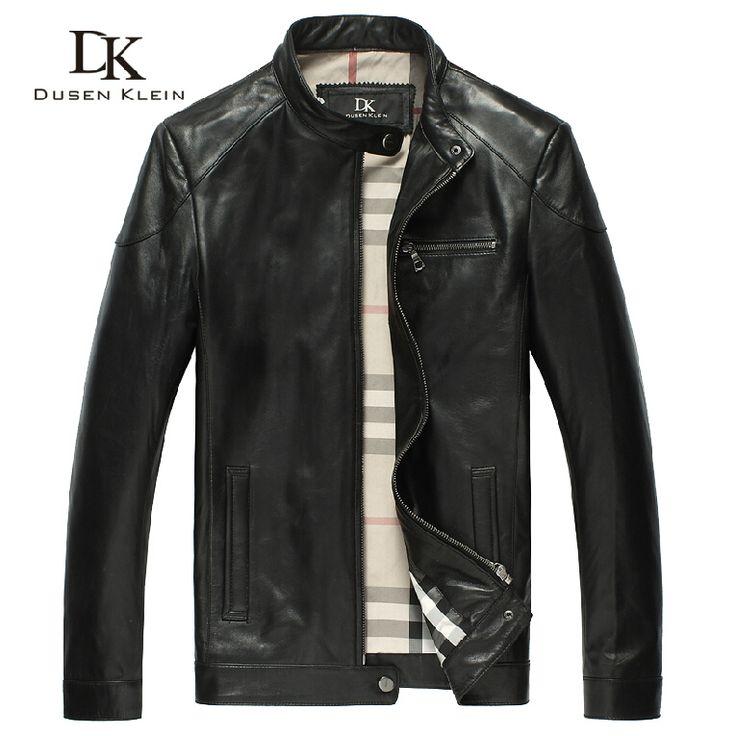 Бренд дубленки мужские кожаные куртки и пальто высокое качество бизнес весна черный мужской пиджак 122