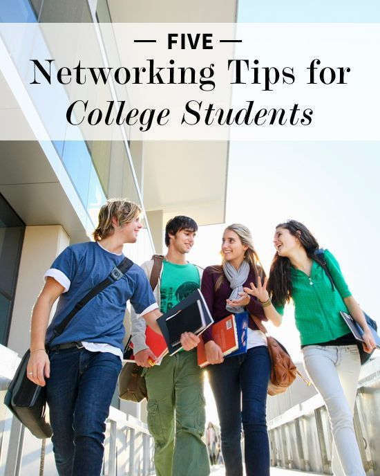 Still in college? You can still start networking! 5 #Networking Tips for College #Students
