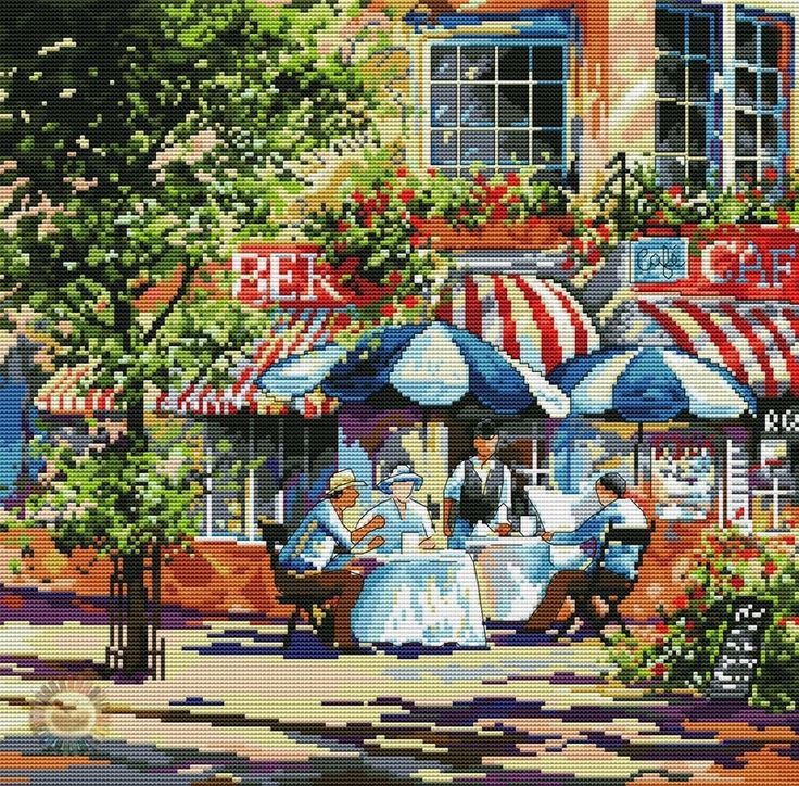 Cafe in the Sun