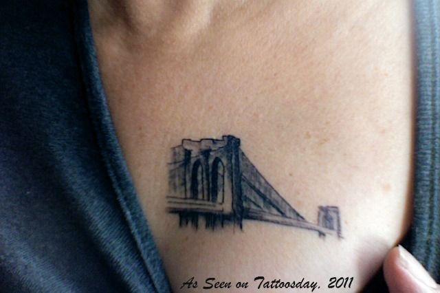 Brooklyn bridge tattoo ink pinterest for Brooklyn tattoo ideas