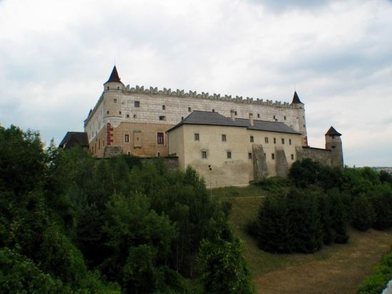 Zólyom - 1095. július 29-én itt hunyt el Szent László király.