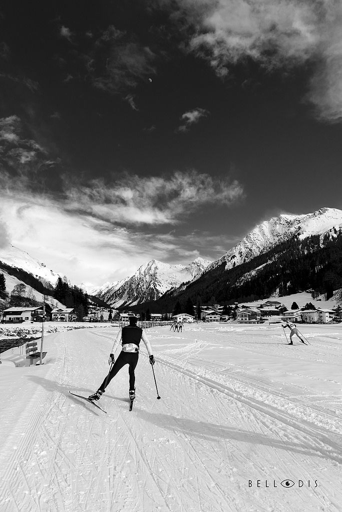 https://flic.kr/p/TXRiL1 | 170134  Cross country skiing in Klosters