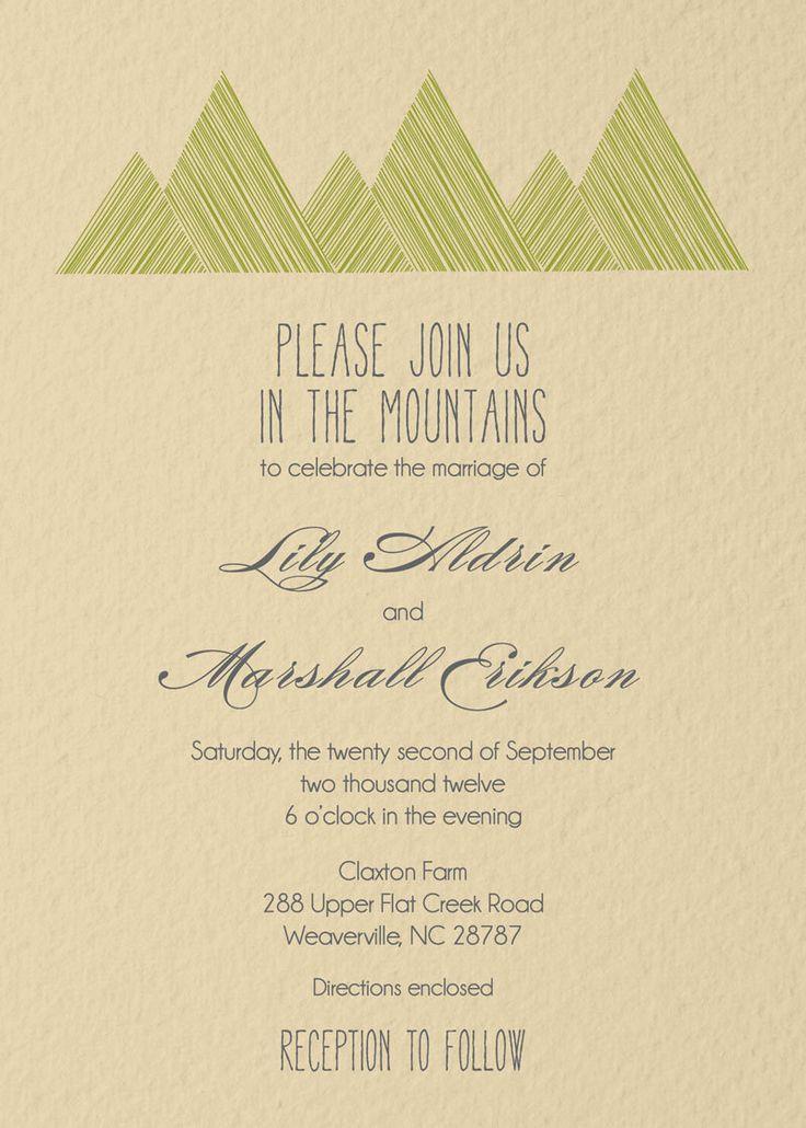 9a7e46dddb7160700271b9b4e9151583 mountain wedding invitations mountain weddings 103 best magic portal reject images on pinterest,How To Reject A Wedding Invitation