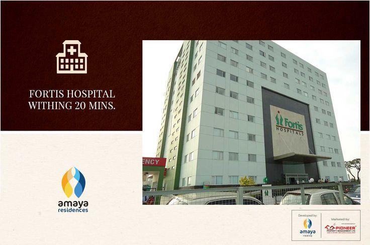 Amaya Residences - 2 & 3 BHK Homes, Narendrapur, Kolkata Fortis Hospital within 20 mins. http://bit.ly/2fHuc3n #Tips #Homes #Kolkata #homebuyers #realestate #residential