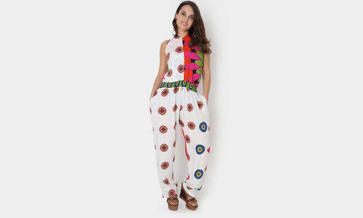 #beach #beachstyle #beachwear #summer #pantalon #pants #colors #transparencia #playa #fashion #moda #mexicana #jumpsuit https://www.facebook.com/peccatumbysolperea