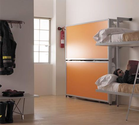 a space saving bunk bed or a fold down bed offer a nice additional sleeping place perfect for kids sleepovers and relatives who stay in your - Fold Down Bed