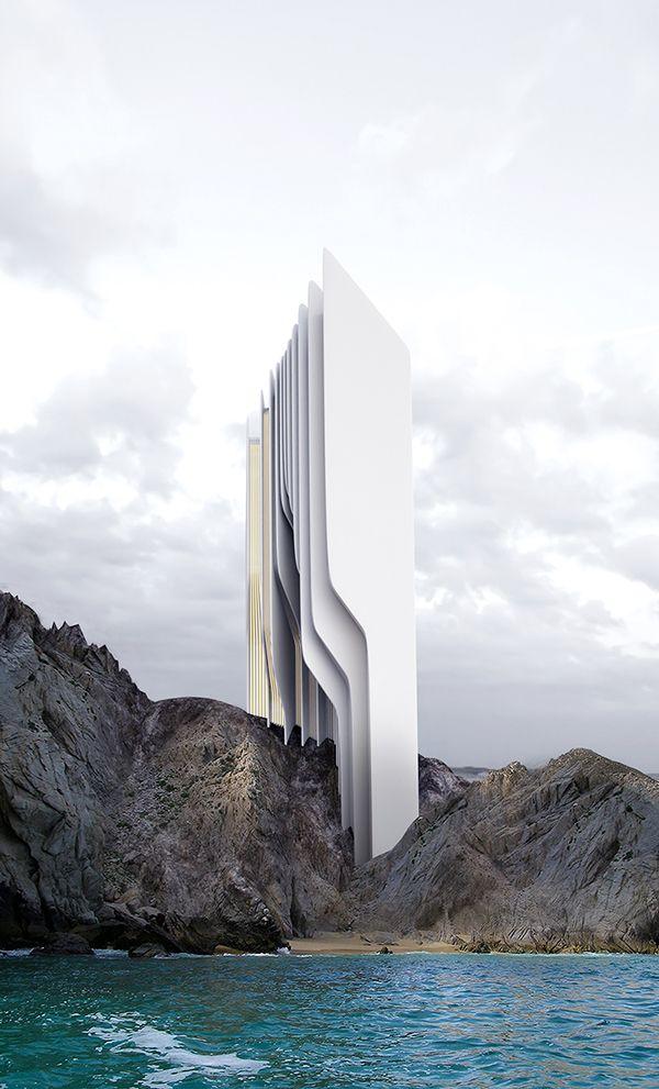Architectural Concepts by Roman Vlasov | Inspiration Grid | Design Inspiration