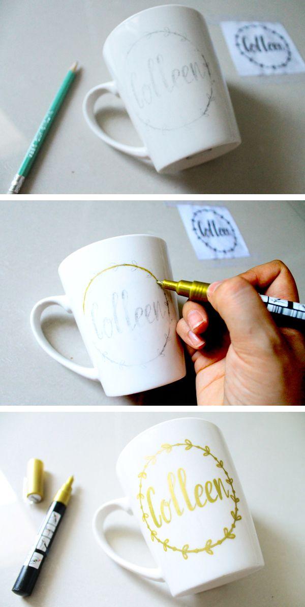 best 25 diy mugs ideas on pinterest mug decorating mug. Black Bedroom Furniture Sets. Home Design Ideas