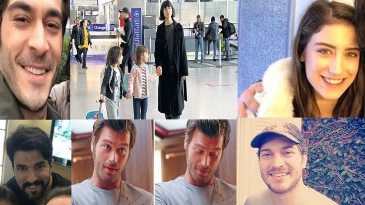 Turkish Actors Latest Clicks | Engin Akyurek,Tuba Buyukustun,