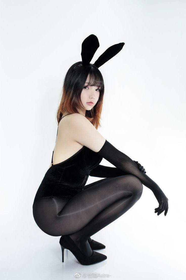 Nine muses looking like playboy bunnies