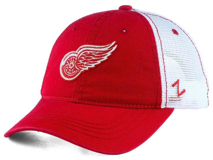 Detroit Red Wings Zephyr NHL Springtime Washed Adjustable Cap