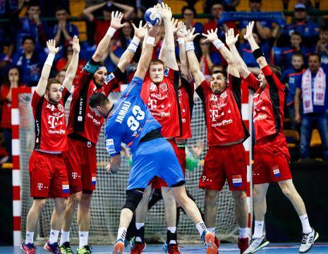 7th April, semifinal: Veszprém-Brest, 33:31