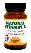 Natural Vitamin A - Discount Country Life Natural Vitamin A