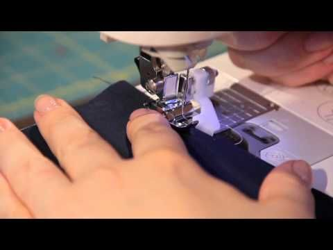How To Use A Blind Hem Foot - YouTube