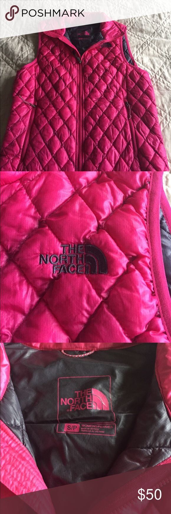 The North Face vest. Pink Thermoball vest. Pink The North Face Thermoball vest. Size small North Face Jackets & Coats Vests