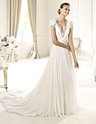 Pronovias apresenta o vestido de noiva Louisse. Elie by Elie Saab 2013. | Pronovias