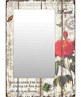 espejo de pared vintage / antiguo