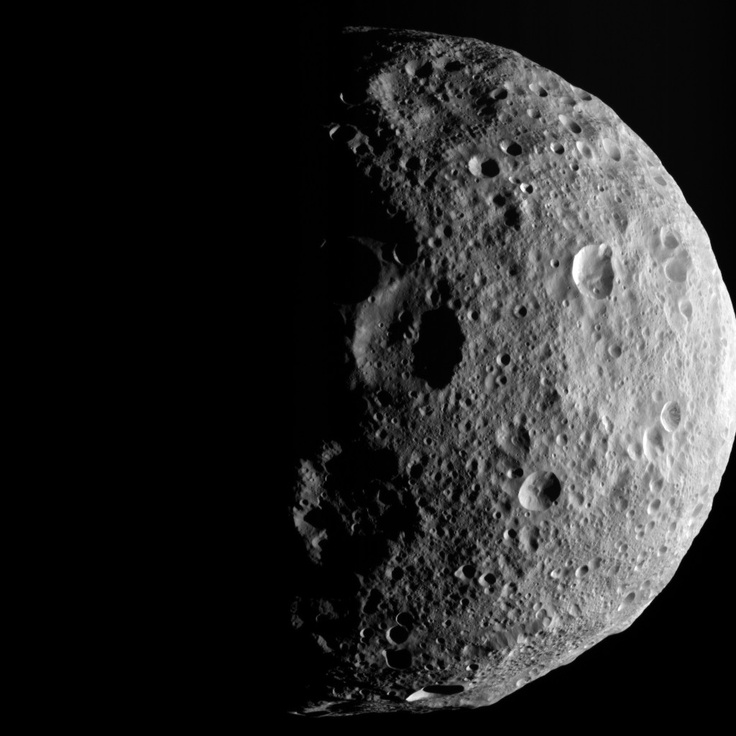 Ex-asteroid Vesta (now categorized as a Protoplanet)