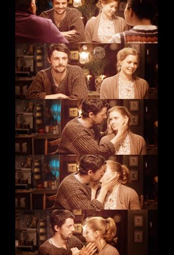 best kiss scene , leap year