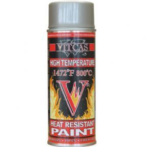 VITCAS Heat Resistant Paint-High Temperature Paint Spray-Silver