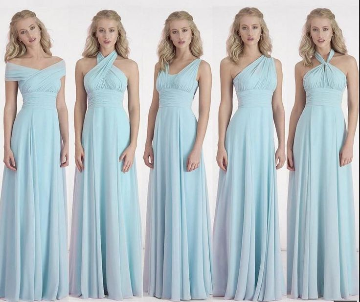Custom Color&Size!new Chiffon Variety To Wear Convertible