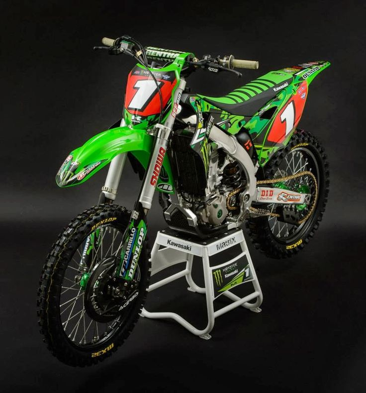 Kawasaki KX-450F Ryan Villopoto San Diego - Supercross USA 2014