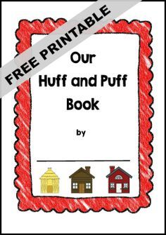 Three Little Pigs Class Book Printable Template                                                                                                                                                                                 More