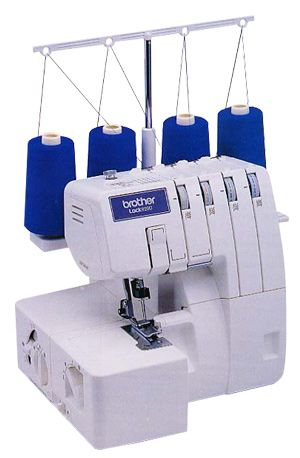 Brother 40D Serger Overlock Sewing Machine Instruction Manual Fascinating Brother Sewing Machine Presser Foot Tension
