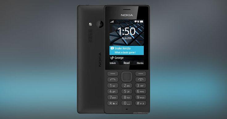 Harga Baru Nokia 150 di Lazada: Rp. 450.000 Ketebalan : 81g, 13.5mm Sistem Operasi : - Kapasitas Penyimpanan :microSD card slot Ukuran Layar : 2.4