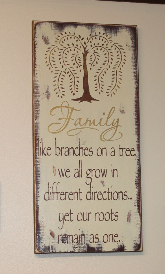 Willow Tree Family Beautiful Sign/Great Gift/Housewarming/Gift/Browns/Mothers Day
