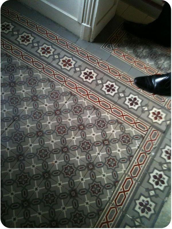 Carreaux de ciment, cement encaustic tiles, SPECTACULAR design! ARCHARIUM tile & stone