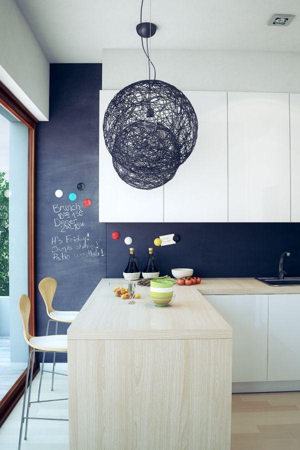 #Minimalist kitchen. #indoor Discover more at http://impressivemagazine.com/2013/11/30/amazing-fresh-minimalist-interiors/